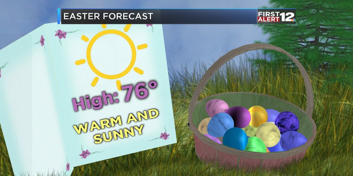 First Alert: Chilly Easter morning, warm afternoon!