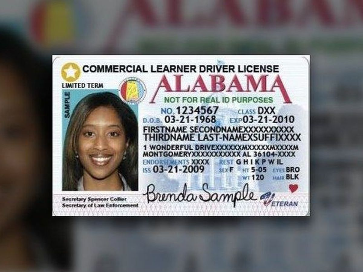 AL driver's license getting 8th digit