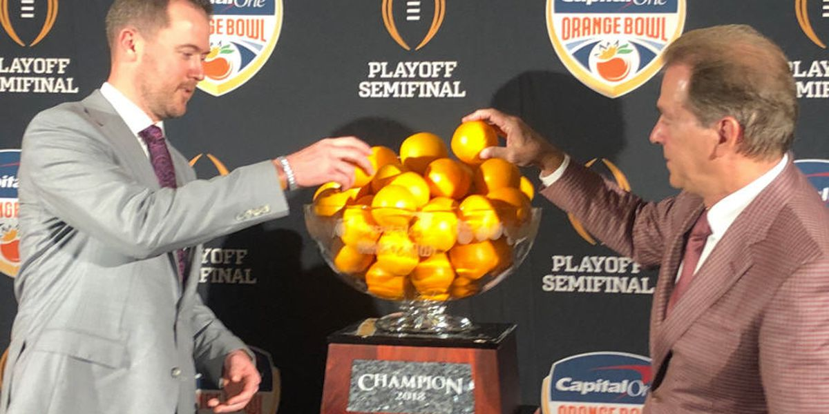 Orange Bowl draws near after long layoff between games for OU, UA