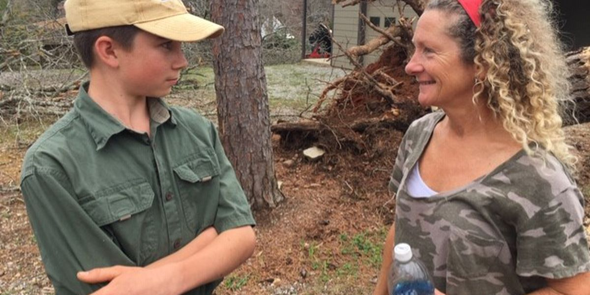 Lake Mitchell residents get close call in Thursday night storms
