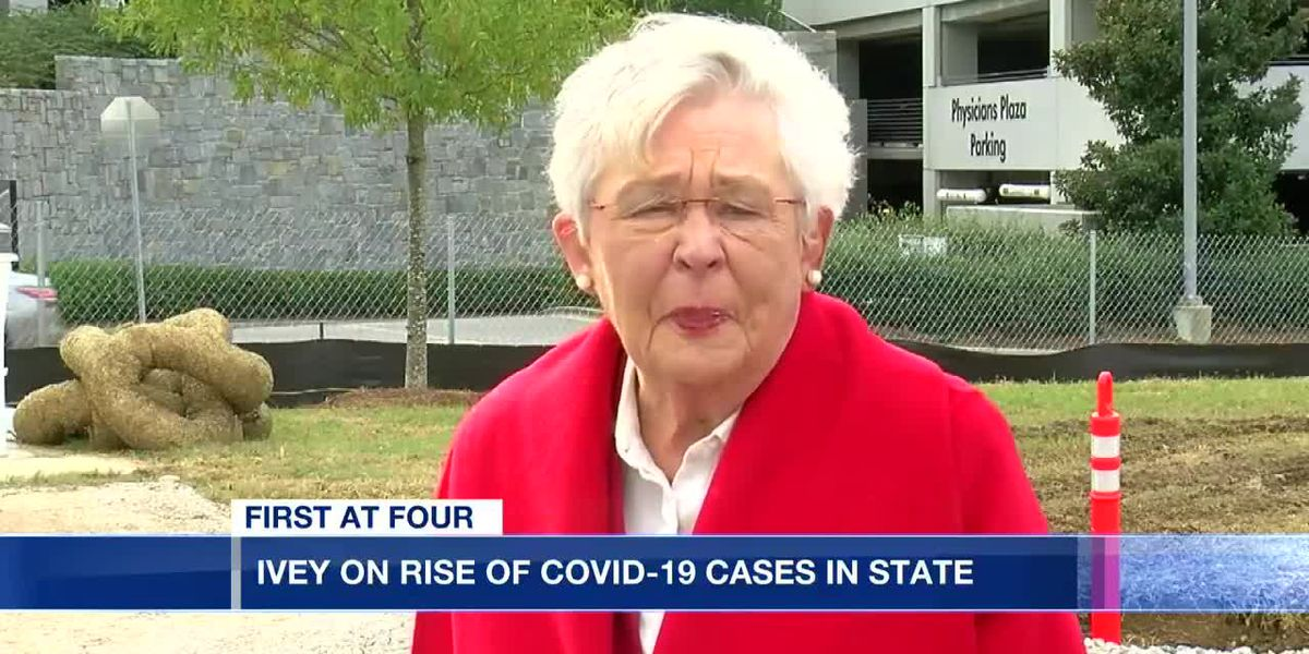 Gov. Ivey on latest COVID-19 cases