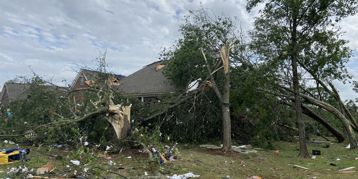 3 tornadoes touched down in Alabama Tuesday, NWS says