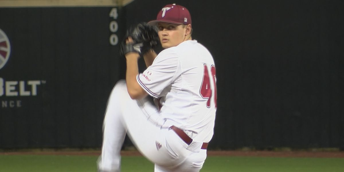 Padres draft pick Levi Thomas preparing for life after Troy