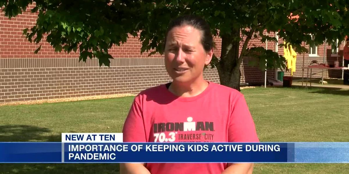 Doctors urge parents to keep their kids active