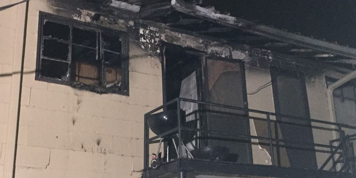 2 children in serious condition after apartment fire in west B'ham