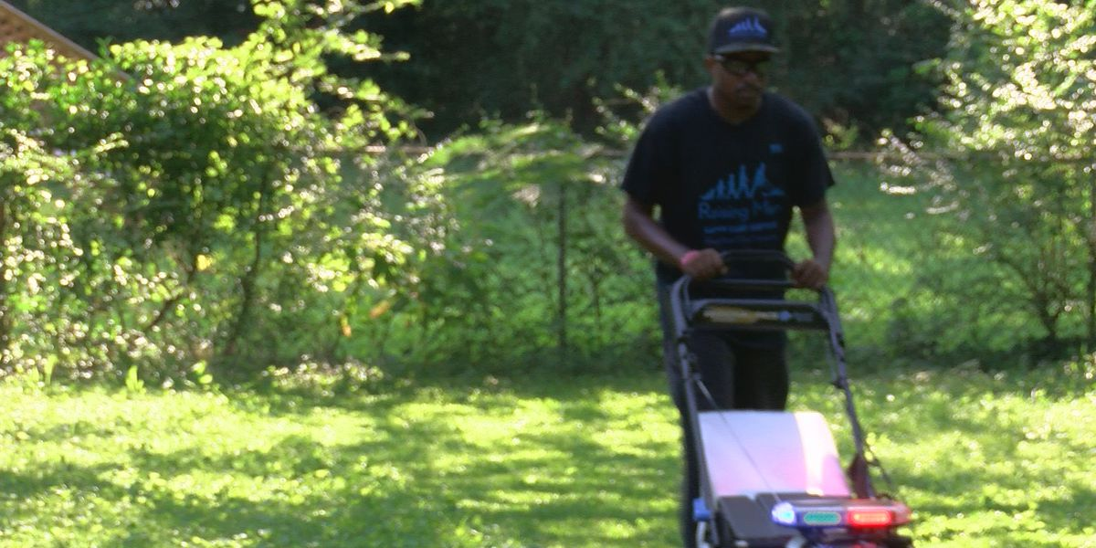 Huntsville man gears up for 6th tour across America mowing lawns