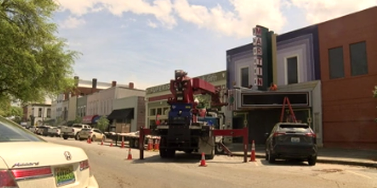 Renovation underway of Martin Theatre in Eufaula