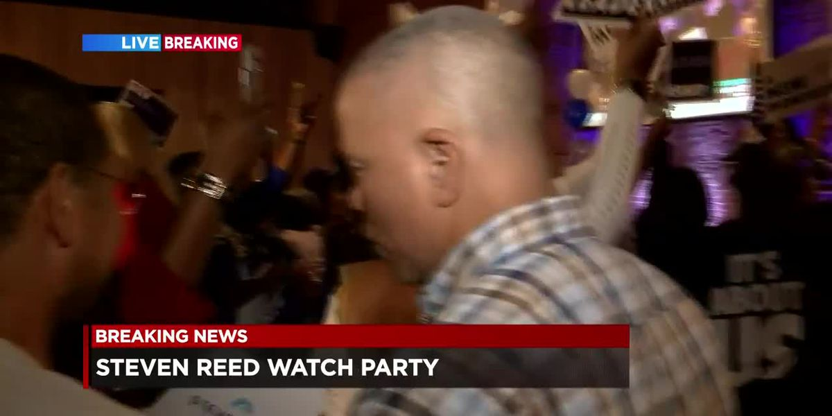 Steven Reed defeats David Woods in mayoral election