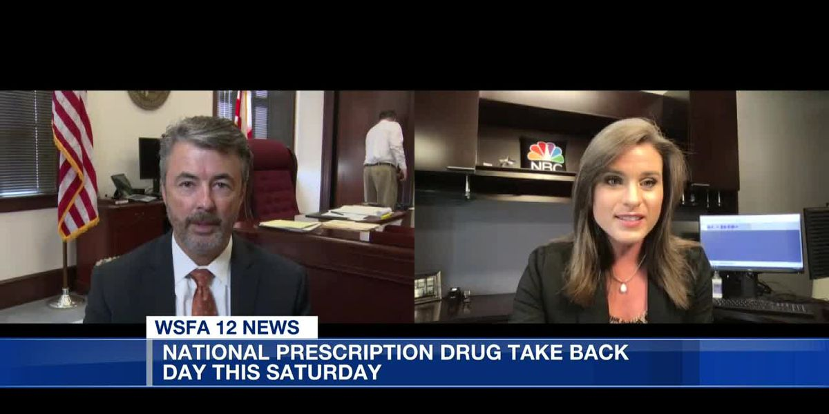12 Talk: National Prescription Drug Take Back Day happening this Saturday