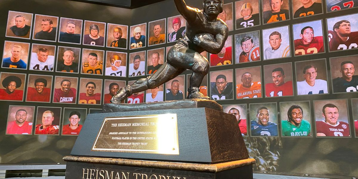 Heisman Trophy shipped to each school ahead of virtual ceremony