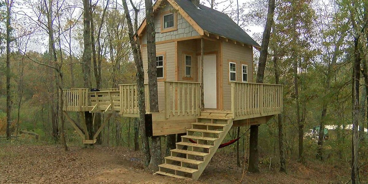 Alexandria boy gets treehouse from Make-A-Wish of Alabama