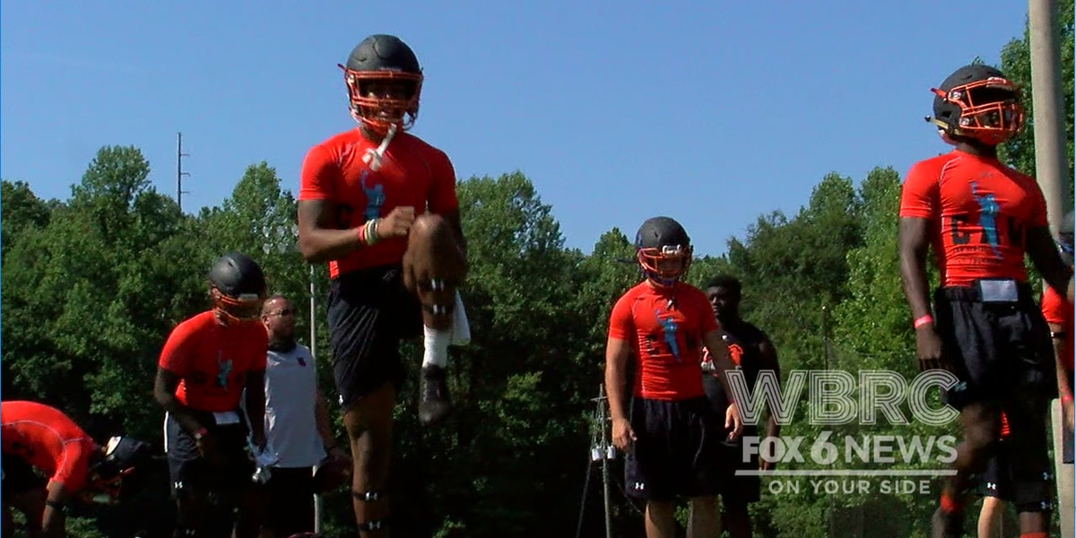 Cam Newton holds 7-on-7 Camp in Shelby County