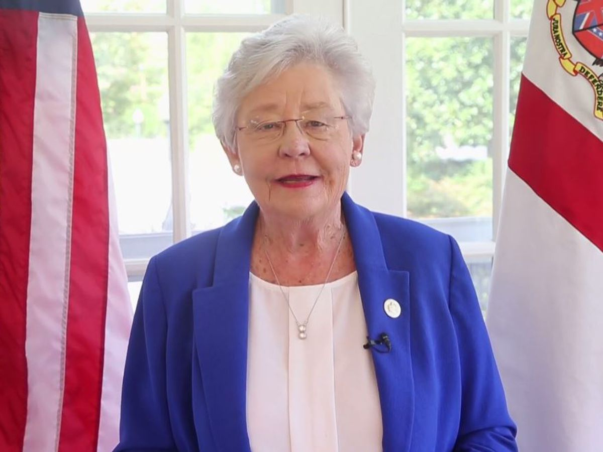 Alabama governor's doctor considers her 'cured' of lung cancer