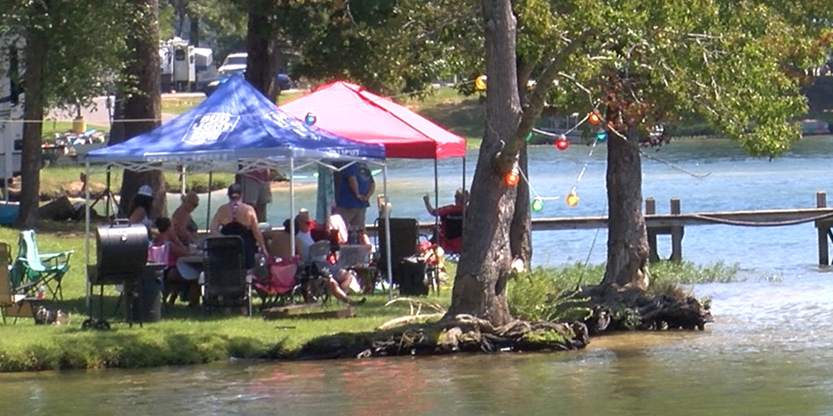 Campers, boaters fill Wind Creek State Park Labor Day weekend