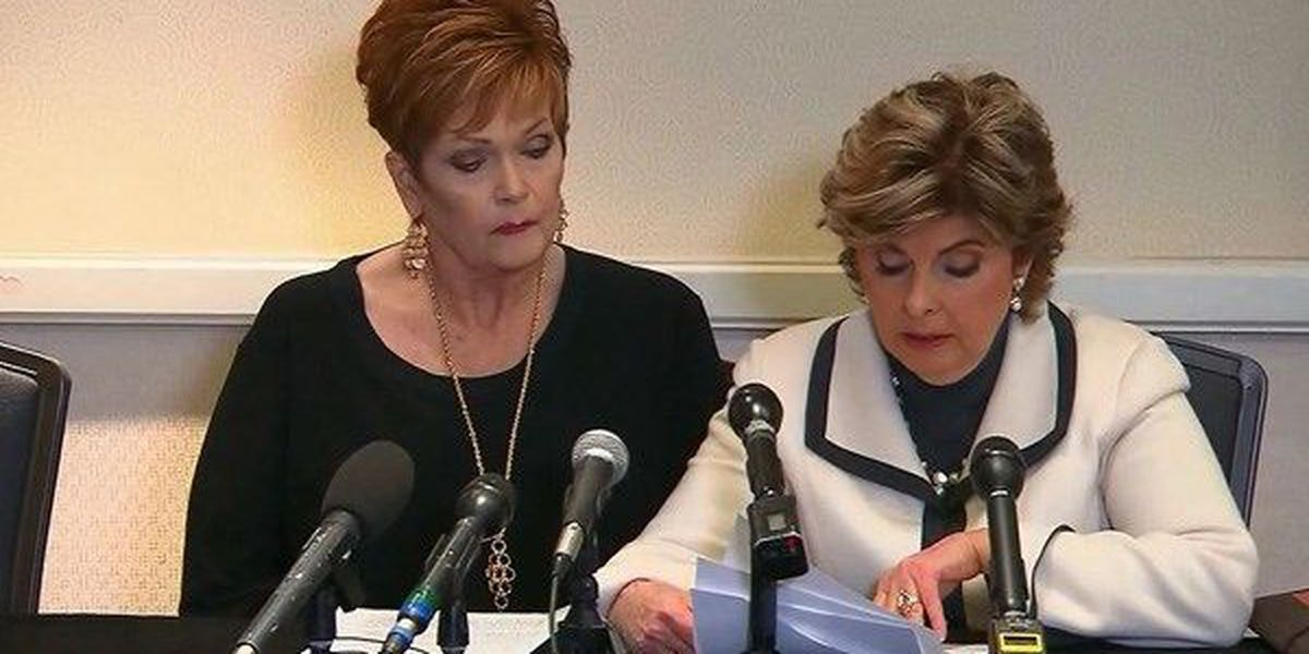 Moore accuser presents findings from handwriting expert on yearbook signature