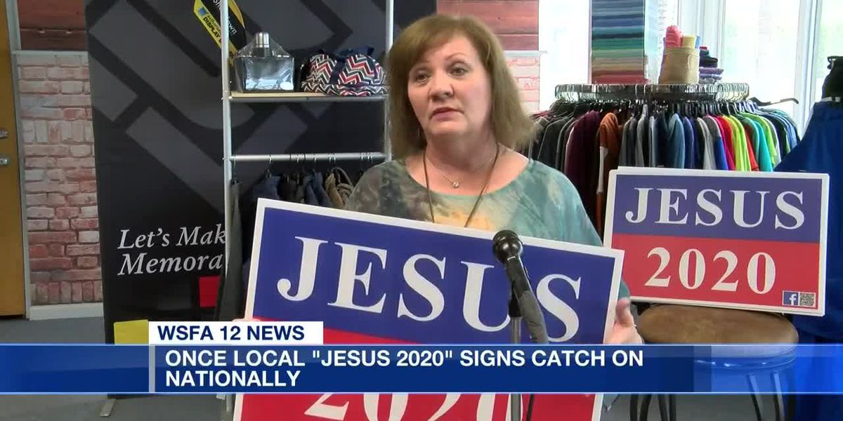 Jesus 2020 campaign still going strong