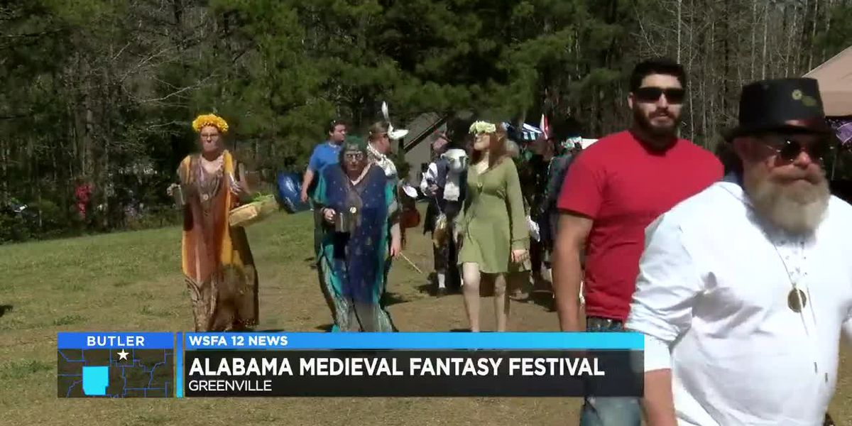 Medieval festival held in Greenville