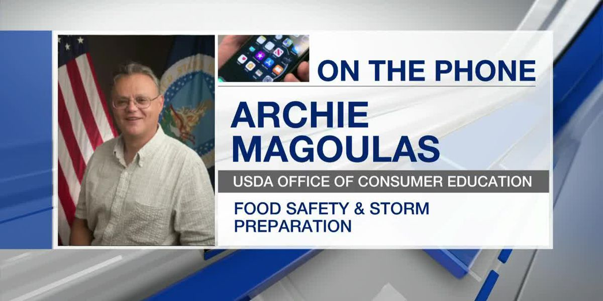 Food safety and storm preparation tips from the USDA