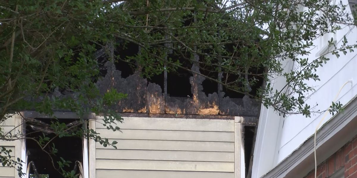 'It sounded like a loud pop': Neighbors react fire caused by lightning strike