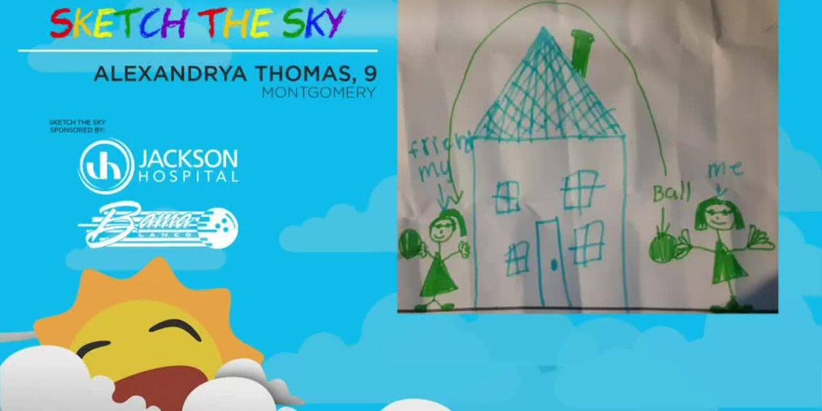 Sketch the Sky winner: Alexandrya Thomas