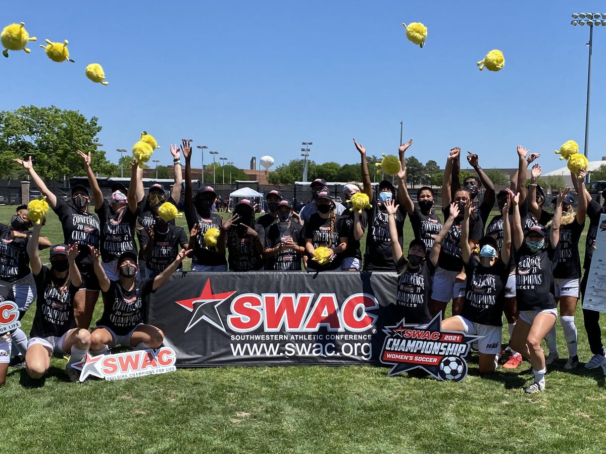 Alabama State women's soccer clinches SWAC title with win against Grambling State