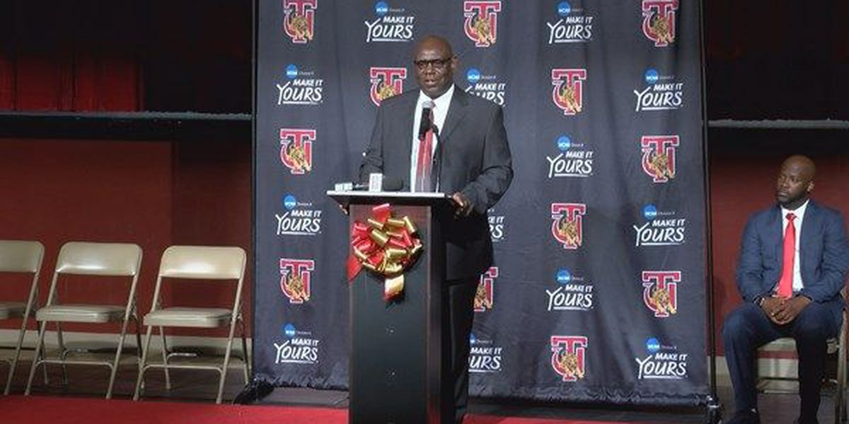 Tuskegee football coach introduced as Athletic Director