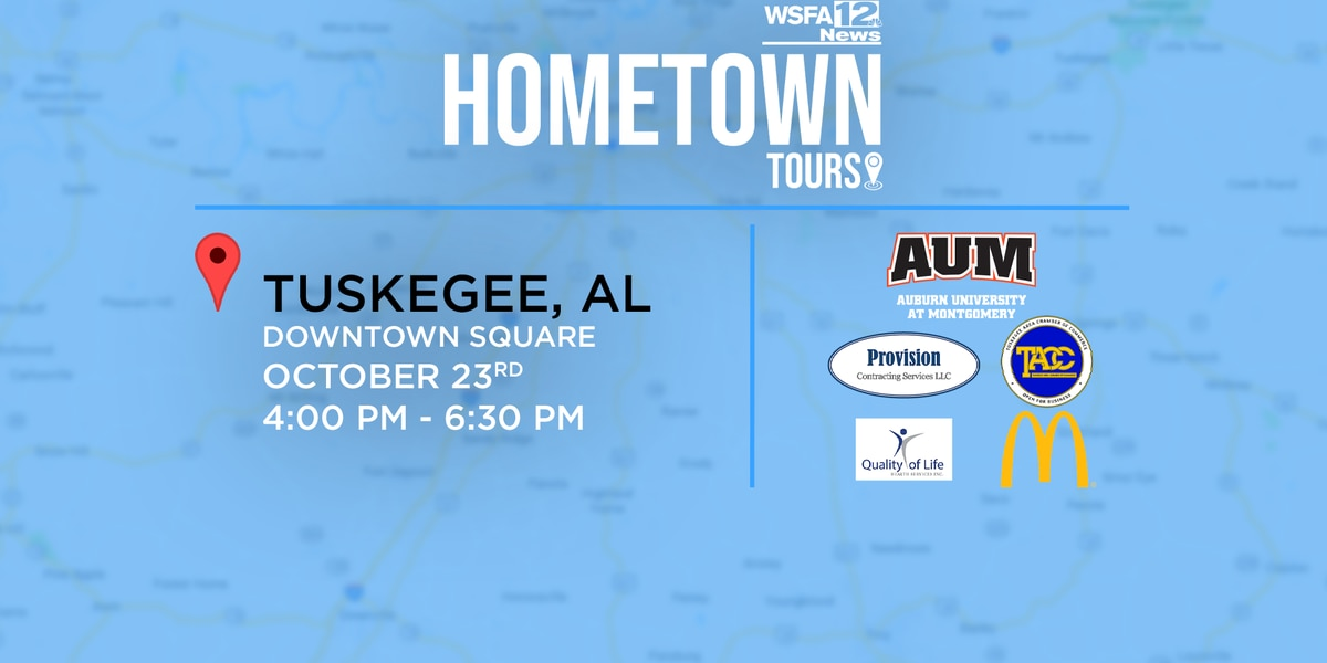 WSFA 12 News to feature Tuskegee on Hometown Tours