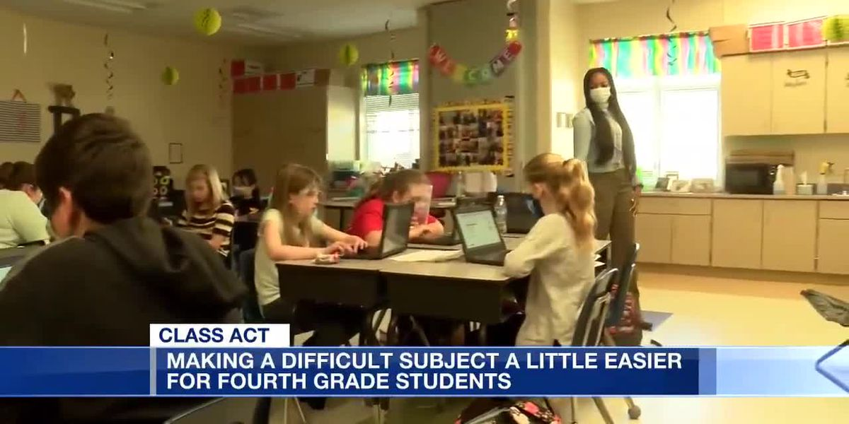 Making a difficult subject a little easier for fourth grade students