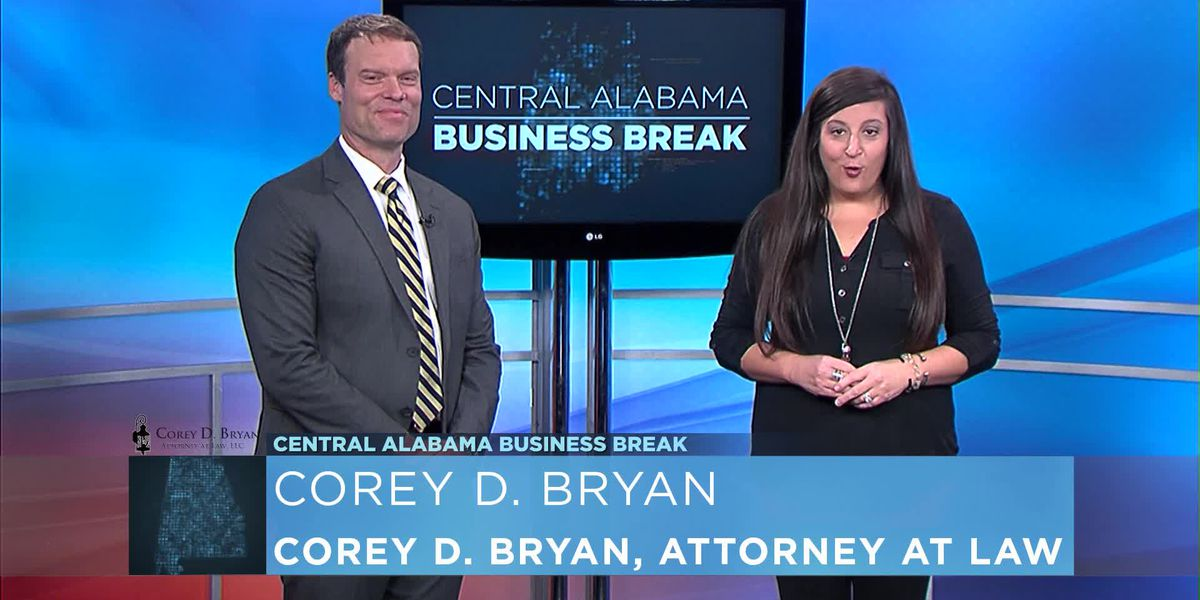 Central Alabama Business Break- Corey D. Bryan, Attorney At Law