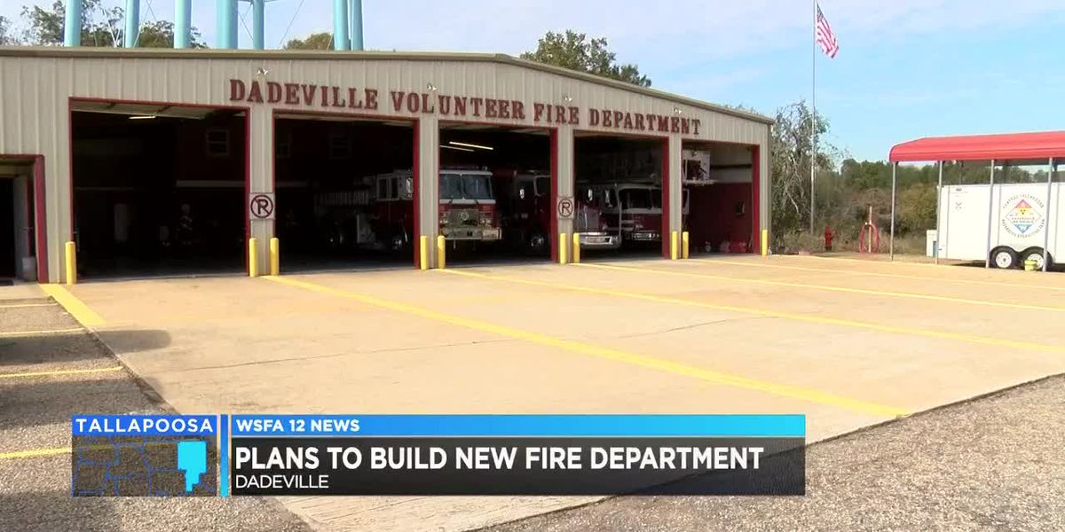 Dadeville works to build new fire station