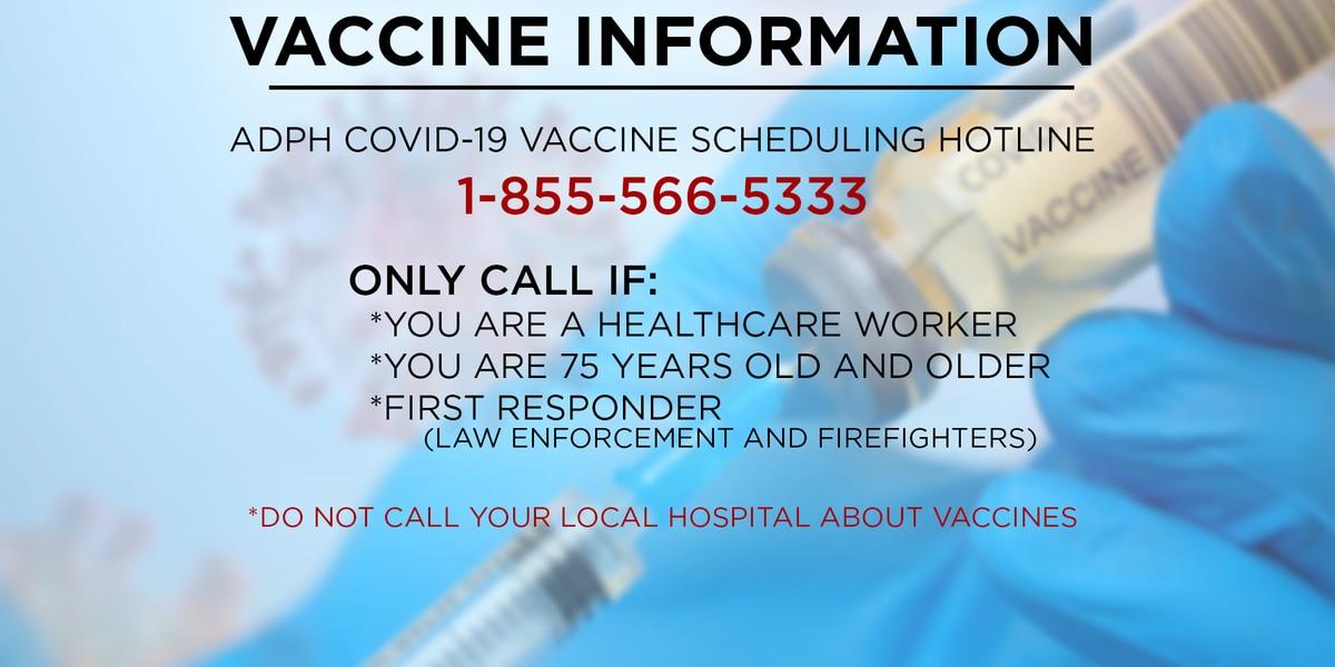 Alabama working to improve vaccine scheduling process