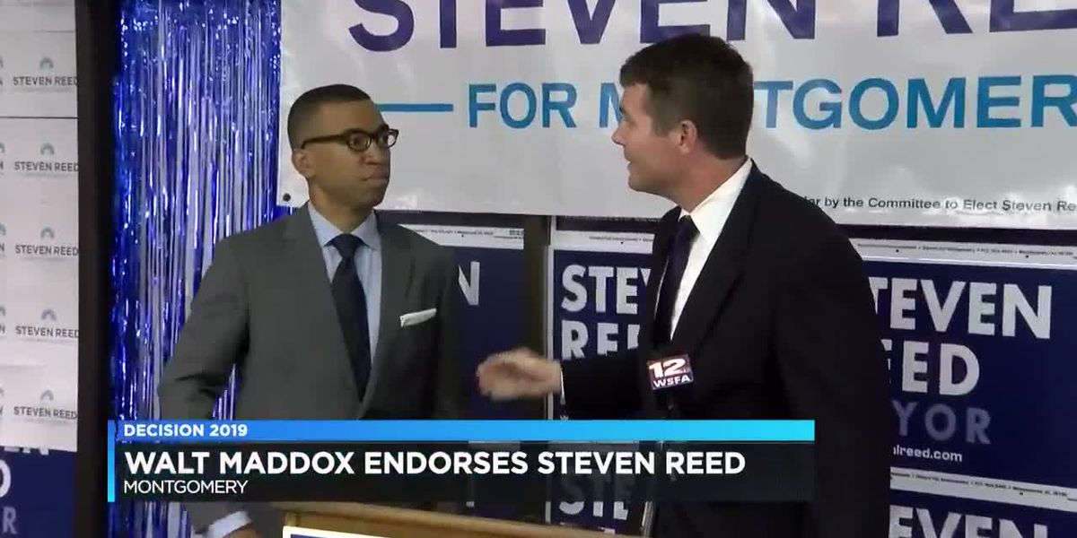 Tuscaloosa mayor endorses Steven Reed for Montgomery mayor