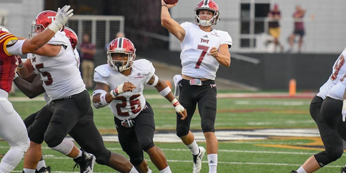 Barker named Sun Belt Offensive POTW