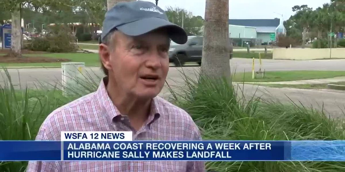 Recovering from Hurricane Sally 1 week later