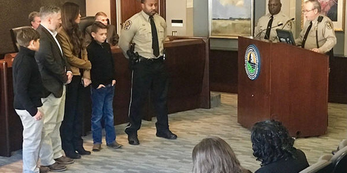 'Deputy of the Year' honored for saving child's life in ATV crash