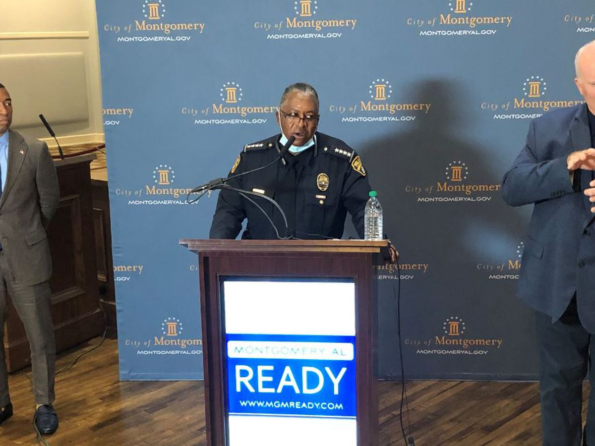 Montgomery mayor, police chief remark on George Floyd's death
