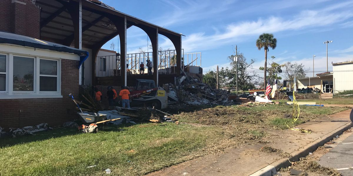Montgomery native leading church through aftermath of Hurricane Michael