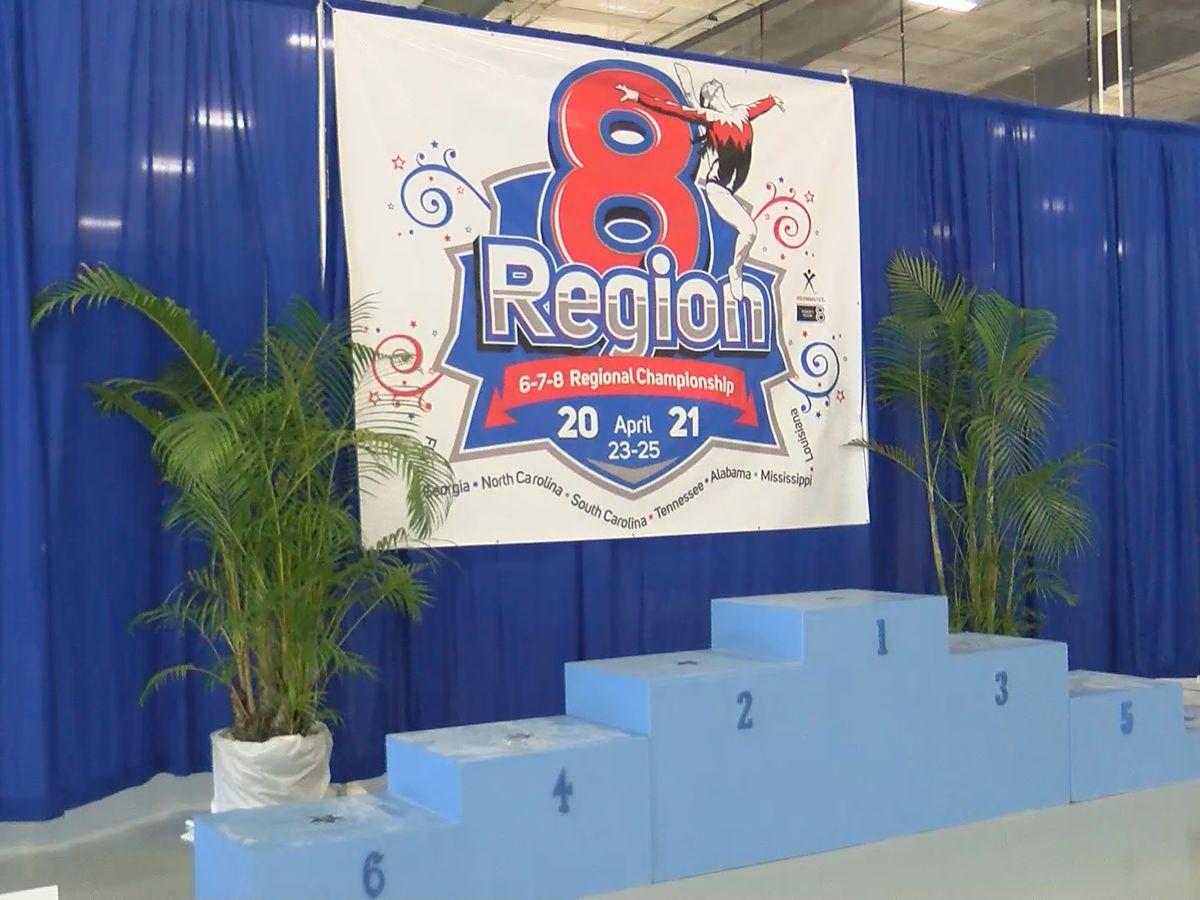 Montgomery hosting regional gymnastics competition this weekend