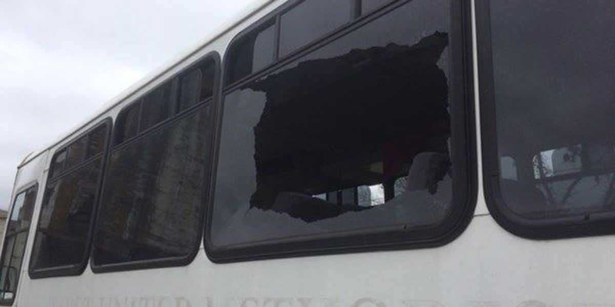 Local church helps pay for bus windows shattered by thrown rock