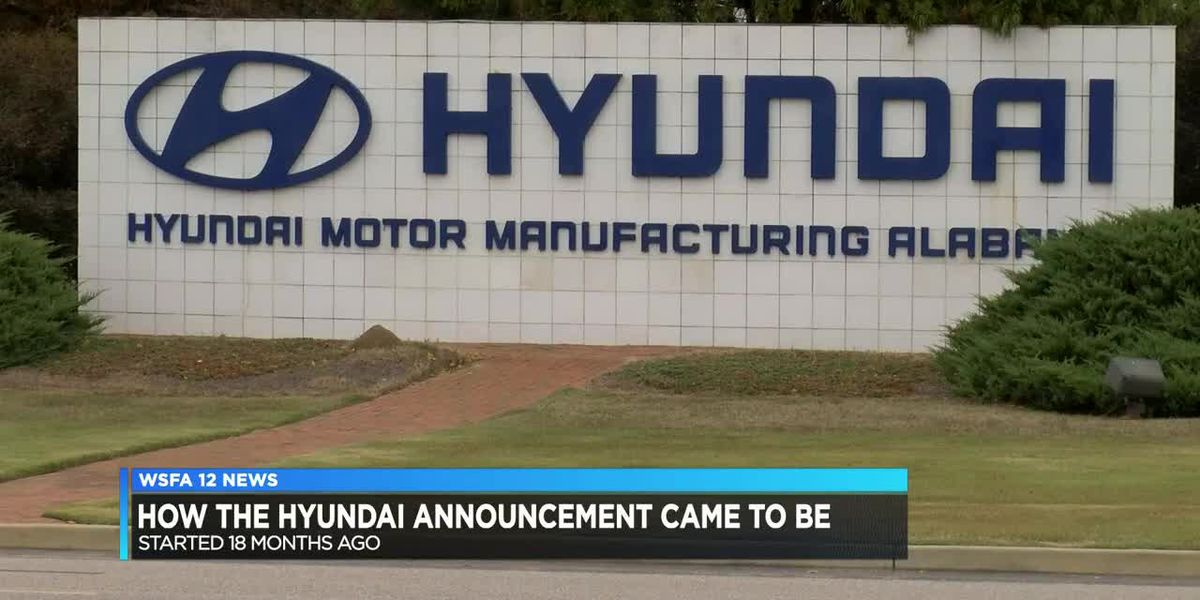 Plan on recent Hyundai announcement began 18 months ago