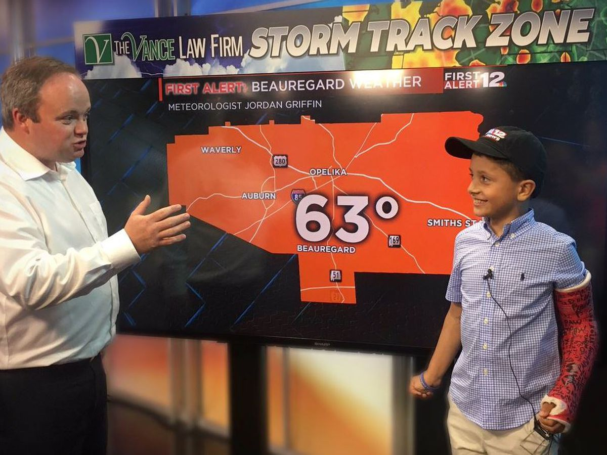 WSFA 12 News welcomes Lee County tornado survivor for visit