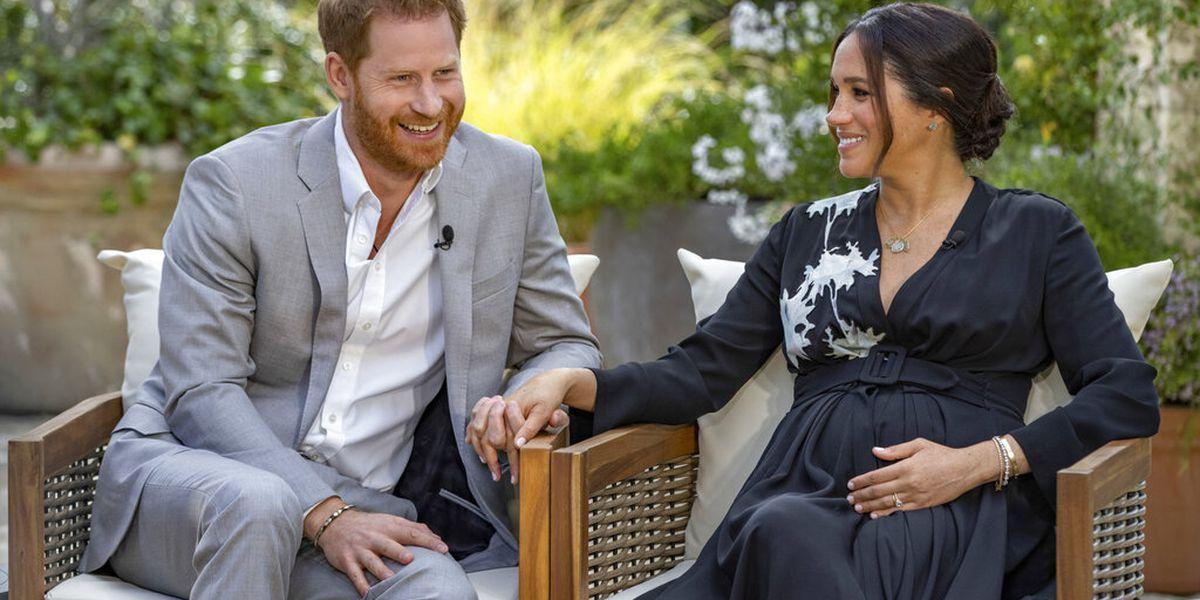 UK royals absorb shock of revealing Harry, Meghan interview