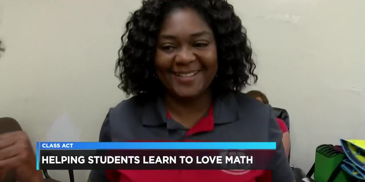 Class Act: Lee High School teacher helping students love math