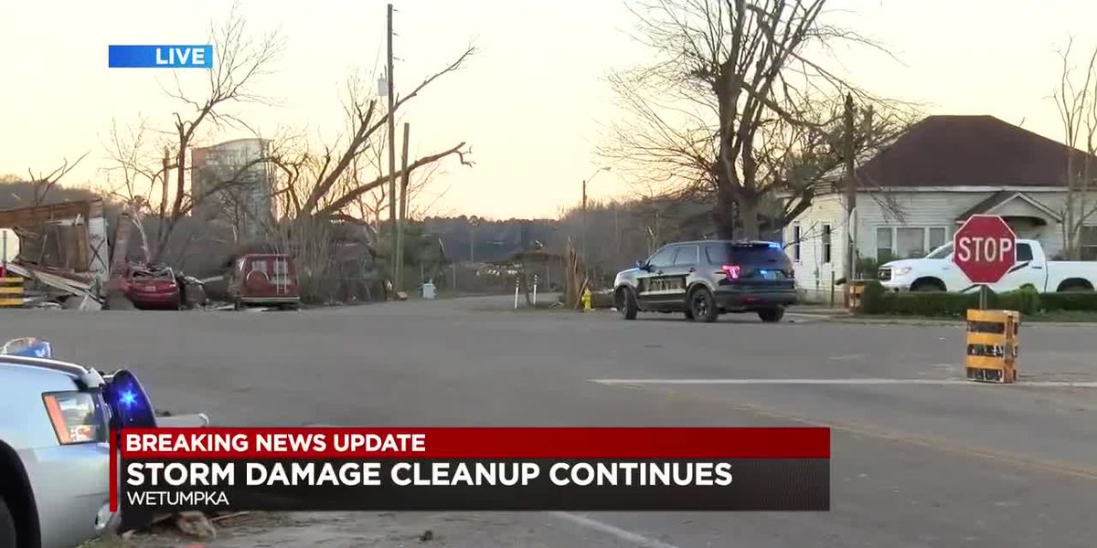 School, work resumes as cleanup continues in Wetumpka