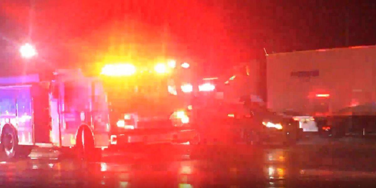 Pedestrian struck by vehicle; minor injuries sustained