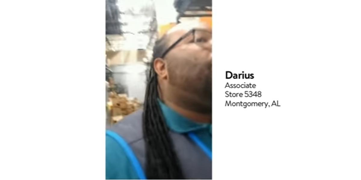 Montgomery man featured in Walmart's 'Lean on me' TV spot