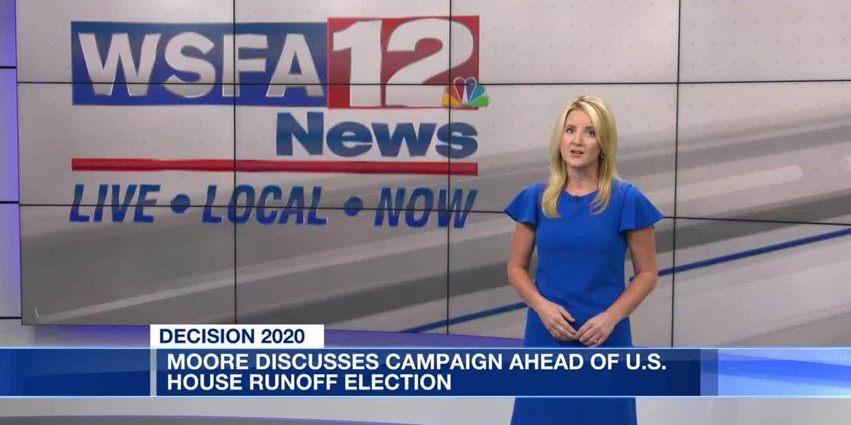 Moore discusses campaign ahead of US House runoff election