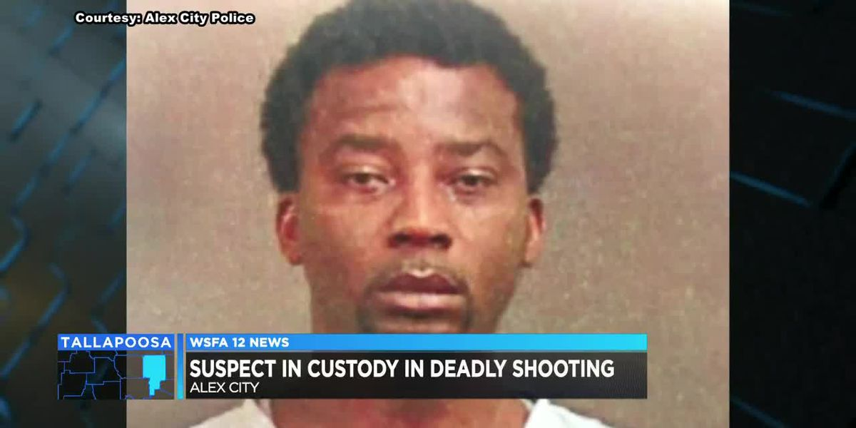 Suspect in custody after deadly Alex City shooting