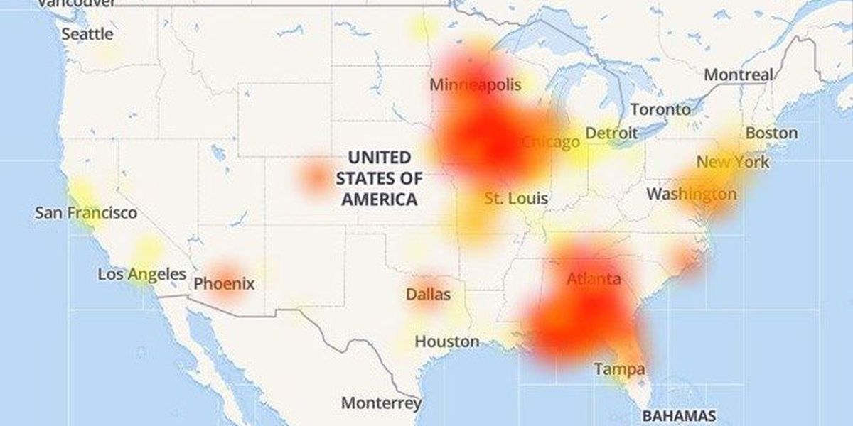 Service restored after \'massive\' outage hits Mediacom subscribers