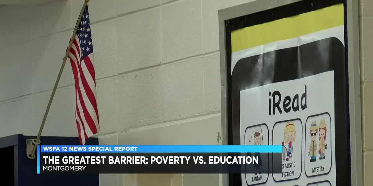 The Great Barrier: Poverty vs. Education